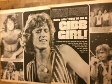 Andy Gibb, Three Page Vintage Clipping