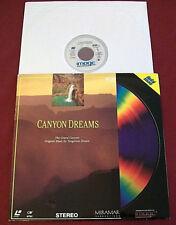 CANYON DREAMS CD VIDEO GRAND CANYON VIEWS MUSIC TANGERINE DREAM LD LASERDISC VTG
