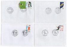 FRANCE sport  7 FDC - enveloppe 1er jour /FDCF15