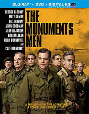 The Monuments Men (Blu-ray/DVD, 2014, 2-Disc Set, Includes Digital Copy...