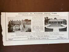g1n ephemera 1941 advert house sale georgian mansion next to windsor great park