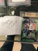 2019 Panini Prizm Neon Green Pulsar Lamar Jackson #71 BGS 9.5 POP 1!!! 🔥 1/1