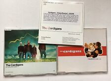 THE CARDIGANS - MY FAVOURITE GAME + CARNIVAL 2 X  CD + ERASE REWIND PROMO
