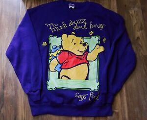 VINTAGE Winnie the Pooh Sweatshirt (Size: Large)