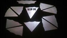 "HPM Yamaha Blaster Gusset Kit . 11 piece 1/8"" steel"