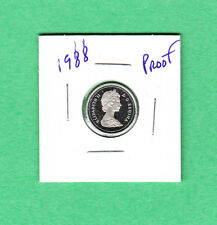 1988 Canadian 10 Cent Dime From the Proof Set