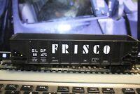 3 bay COAL HOPPER FRISCO rtr built CAR 1/87 ho ACCURAIL metal wheel-kadee #slsf