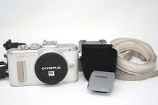 Olympus PEN E-PL8 16.1MP Digital Camera - White (Body Only)-Used
