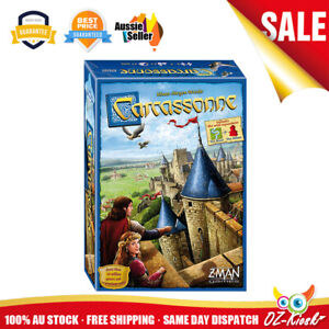 OZ Carcassonne Board Game Standard Version Super Fun Family Party Game AU Stock