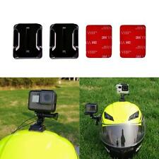 Helmet 3M Adhesive Pads Sticker Flat Mounts Accessorie kit f GoPro HERO 5 4 3 S2