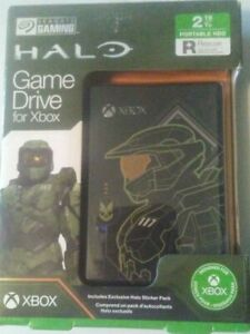 Seagate XBOX Game Drive 2TB ( Halo Master Chief Limited Edition ) ~ NEW