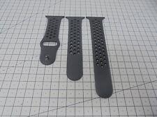 Genuine Apple Watch Nike + Sport Band Strap Anthracite / Black 38mm - GG324
