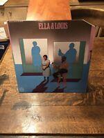 Ella Fitzgerald & Louis Armstrong - Ella & Louis - VERVE (2-v6s 8811) - JAZZ LP