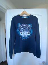 Kenzo Sweatshirt- Medium- Exclusive Liberty London Blue - Good Condition