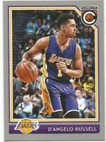 D'Angelo Russell Panini Complete SILVER 2016/17 - NBA Card #179
