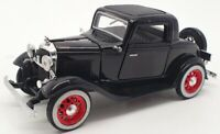 Unbranded 14cm Long Model SS-T5360 - 1932 Ford 3 Window Coupe - Black