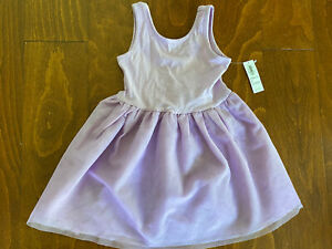 NWT Old Navy Toddler Girls Sleeveless Light Purple Dress Tool lace 2T