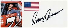 NASCAR Legend BENNY PARSONS Autographed Card from 1990s