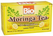 Bio Nutrition Moringa Tea Lemon Flavor 30 Tea Bags