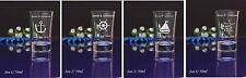 200 Personalised Engraved 60ml Shot Glass Wedding Birthday Gift