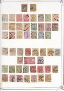 Transvaal collection with values to £5, in mixed condition