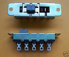 DEFOND DP4T SLIDE SWITCHES 8A/250VAC (2 PCS)