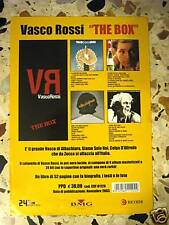 VASCO ROSSI-THE BOX- volantino cm 21 x cm 30-2003