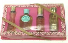 Vintage Perfume COTY 4pc Gift Set Emeraude Replique Heaven Sent Intimant 1960s