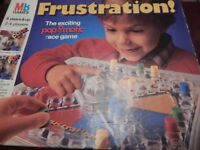Frustration Board Game By MB Games 1986 Big Box Edition