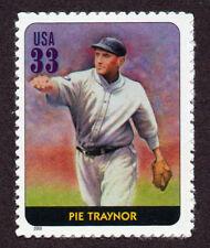 UNITED STATES, SCOTT # 3408-O, SINGLE STAMP OF PIE TRAYNOR, BASEBALL LEGEND, MNH