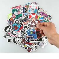 100PCS Sticker Bomb Graffiti Vinyl Car Skate Skateboard Laptop Luggage Decals