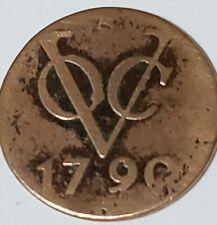 1790 VOC ***DUIT*** SHIPWRECK COIN **MEDIUM GRADE** US SELLER I19