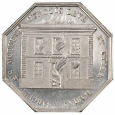 [#58062] France, Insurance, Token, Ms(60-62), Silver, Gailhouste #153, 16.19