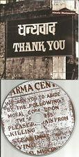 ALANIS MORISSETTE Thank you w/ UNINVITED DEMO Card Sleeve CD single USA Seller