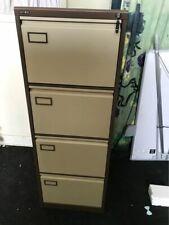Bisley 4 Drawer Office Filing Cabinet Foolscap - Beige