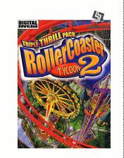 RollerCoaster Tycoon 2 triple Thrill Pack Steam key código global