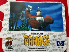 Mouse Pad Comic Book Character MAJOR DAMAGE from 2002 San Diego comic con