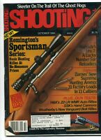 SHOOTING TIMES Magazine October 1984 Remington's Sportsman Series
