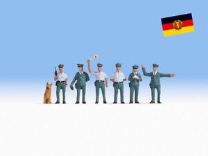 "Noch 45076 Tt Gauge,Figurines "" Police Officers GDR "" # New Original Packaging"