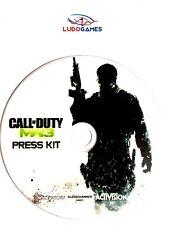 Call Of Duty Modern Warfare 3 Press Kit Disc PS3 Playstation Videojuego Retro