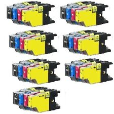 28 PK Ink Cartridges Set fits Brother LC71 LC75 MFC-J280W MFC-J425W MFC-J430W