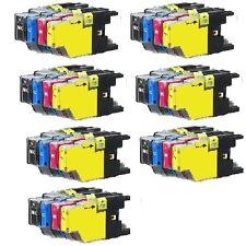 28 PK Ink Cartridges Set fits Brother LC71 LC75 MFC-J280W MFC-J425W MFC-J430W