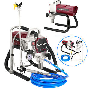 High Pressure Airless Spray Paint Gun Sprayer Spraying Machine 110V 1800W T2O2