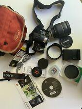 Sony Alpha SLT-A33 14.2MP Digital SLR - Black with Tamron AF 28-300mm Lens