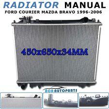 Mazda Bravo Ford Courier Radiator PD PE PG PH '96-'06 MT Aluminum Core Manual