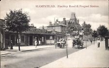 Hampstead. Finchley Road & Frognal Railway Station # 95 by Charles Martin.