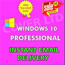 Windows 10 Professional Pro ( 32/64 Bit ) GENUINE KEY