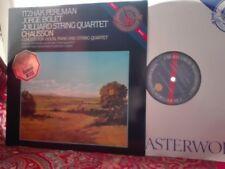 CHAUSSON: Concert > Perlman Bolet Juilliard quartet / CBS Holland digital LP NM