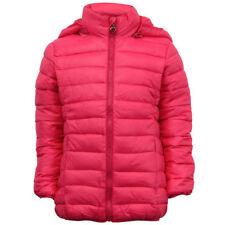 Cappotto rosa in poliestere per bambine dai 2 ai 16 anni
