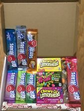 Air Heads/Jelly Belly/Cow Tales/Trolli 31 Items American Sweets Gift Box - M06